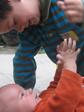 Verbondenheid met de ander: kleuter en baby