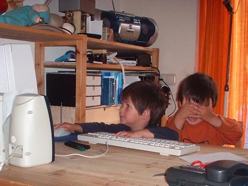 Verbondenheid met de materie: computer