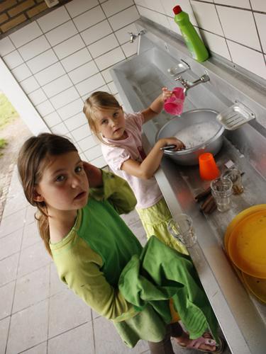 Verbondenheid met de materie: afwas