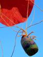 Verbondenheid met de materie: parachute