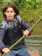Verbondenheid met de natuur: varen op een vlot